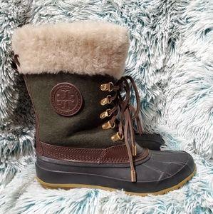 Tory Burch duck boots